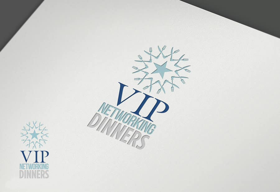 #57 for Design a Logo for Vip networking dinners by grafkd3zyn