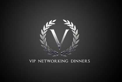 Graphic Design Contest Entry #60 for Design a Logo for Vip networking dinners