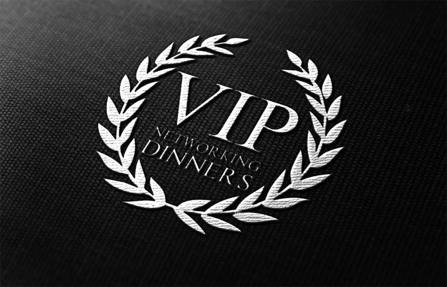 #93 for Design a Logo for Vip networking dinners by helenasdesign