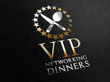 Graphic Design Contest Entry #156 for Design a Logo for Vip networking dinners