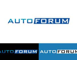 nº 12 pour Design a Logo for Autoforum par mdreyad