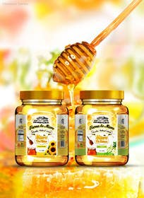 #47 for Label design for Honey Jar (eticheta miere) by samazran