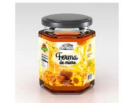 catalinorzan tarafından Label design for Honey Jar (eticheta miere) için no 59
