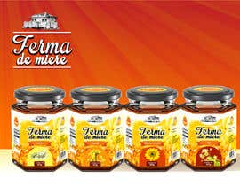 #78 untuk Label design for Honey Jar (eticheta miere) oleh catalinorzan