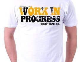rabin610 tarafından Design a T-Shirt - Philippians 1:6 için no 30