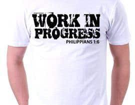 rabin610 tarafından Design a T-Shirt - Philippians 1:6 için no 54
