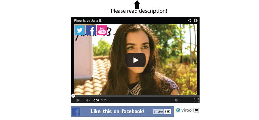 #81 for Design Facebook Like Button For Widget - To Be Seen by Millions! by BonusGratis