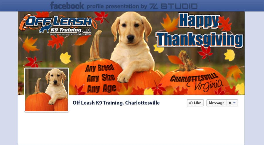 #13 for Thanksgiving Facebook Banner and Profile Pic by Studio7L