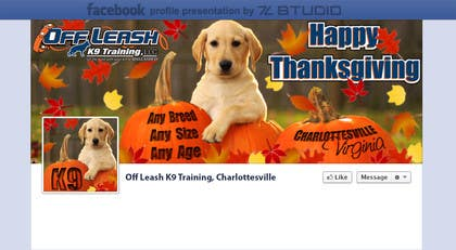 Graphic Design Contest Entry #14 for Thanksgiving Facebook Banner and Profile Pic