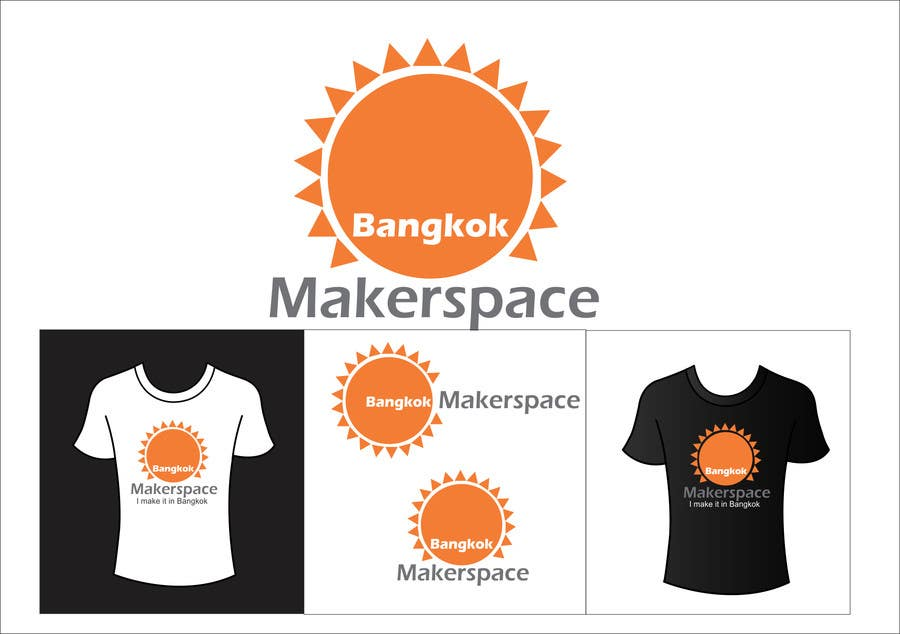 Proposition n°43 du concours Design a Logo for a new MakerSpace in Bangkok