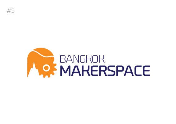 #42 for Design a Logo for a new MakerSpace in Bangkok by noninoey