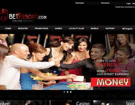 #85 para Design a Banner for an Online Casino por basem36