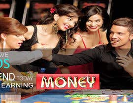 nº 98 pour Design a Banner for an Online Casino par basem36