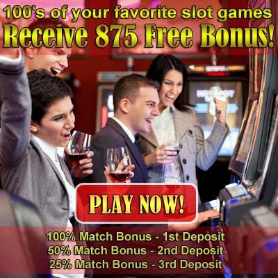 Konkurrenceindlæg #1 for Slot Games Banner for an Online Casino