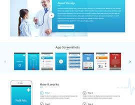 Nro 7 kilpailuun Website for Clinic Information App käyttäjältä nizagen