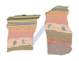 karmachela tarafından Three Scientific/Educational Illustrations for article How Fossils are Dated için no 8