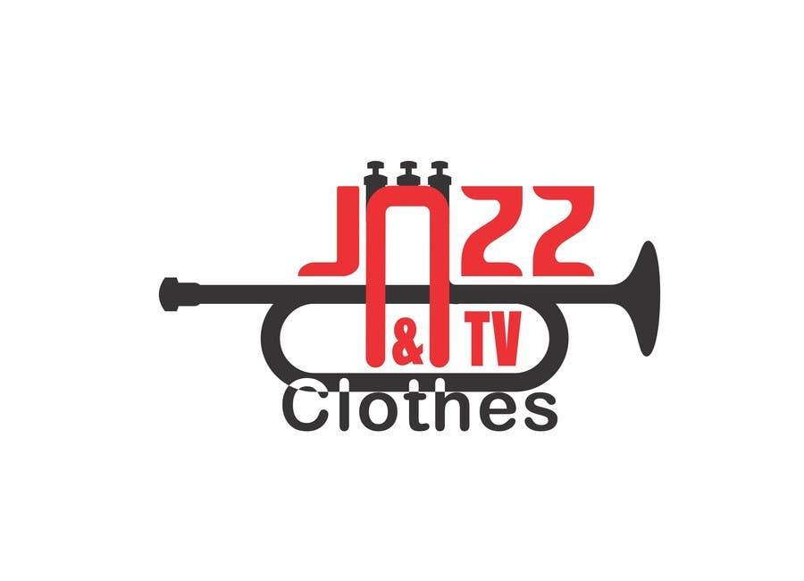 Kilpailutyö #51 kilpailussa Logo design for Jazz & Tv Clothes