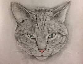 Nro 41 kilpailuun Make An Illustration (Vector or Hand Drawn) of My Cat käyttäjältä DmitriyShubin