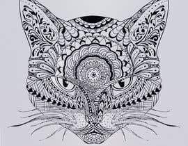Nro 47 kilpailuun Make An Illustration (Vector or Hand Drawn) of My Cat käyttäjältä flordin