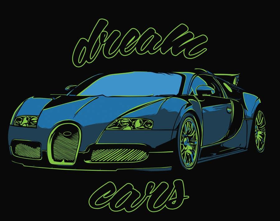 #7 for Design en T-Shirt for Car fans! by sologfx