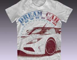 #11 cho Design en T-Shirt for Car fans! bởi cagor