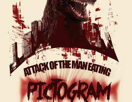 nº 7 pour Attack of the man eating pictogram! par vishnuremesh