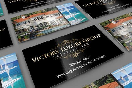 #2 for Design some Business Cards for Victory Luxury Group by midget