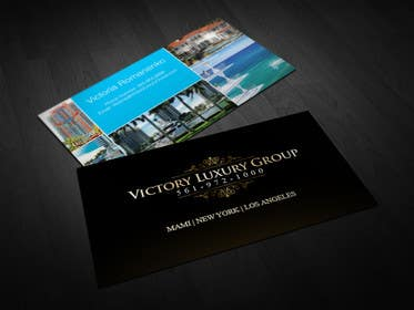 #9 for Design some Business Cards for Victory Luxury Group by SerMigo