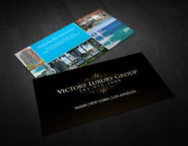 #9 untuk Design some Business Cards for Victory Luxury Group oleh SerMigo