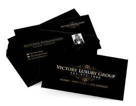 #22 untuk Design some Business Cards for Victory Luxury Group oleh anacristina76
