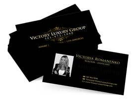 #25 for Design some Business Cards for Victory Luxury Group by anacristina76