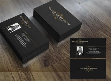 #15 for Design some Business Cards for Victory Luxury Group by marcelog4