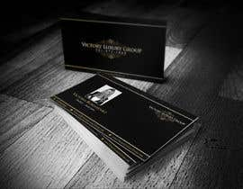 #18 untuk Design some Business Cards for Victory Luxury Group oleh ibhet