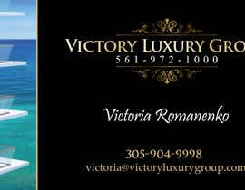 #5 untuk Design some Business Cards for Victory Luxury Group oleh lancer555