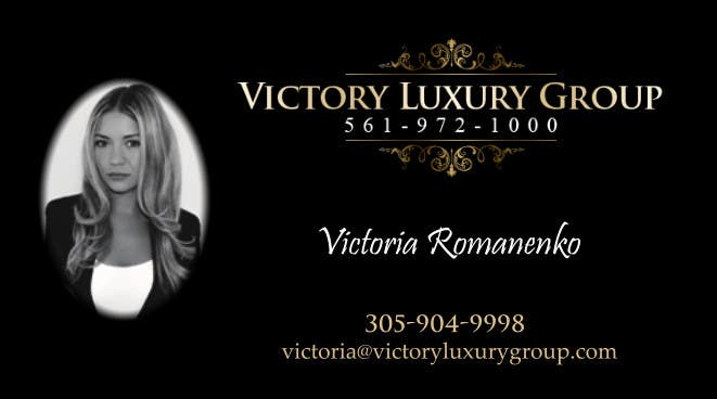 #21 for Design some Business Cards for Victory Luxury Group by lancer555