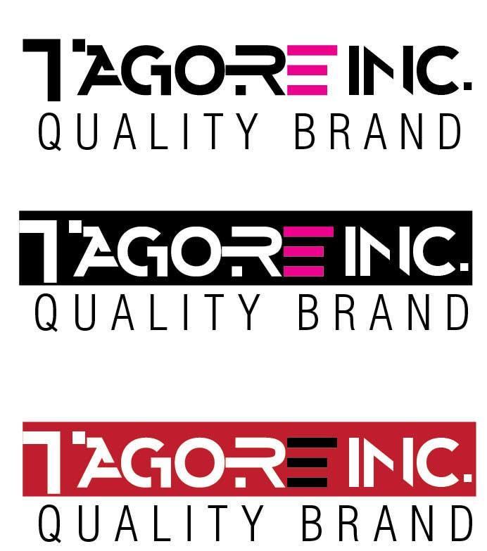 Proposition n°                                        27                                      du concours                                         Design a Logo for Tagore Inc.