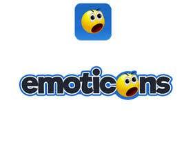Nro 12 kilpailuun Design a logo for a mobile app called Emoticons käyttäjältä stevenadjibi