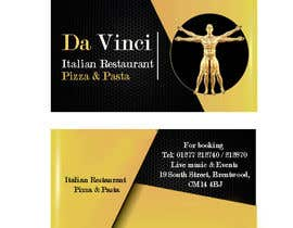 #4 for Design some Business Cards for Italian restaurant af rimouza