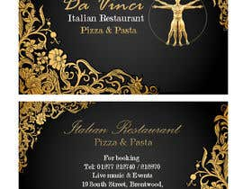 #13 untuk Design some Business Cards for Italian restaurant oleh rimouza