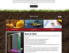 Nro 48 kilpailuun Construction company website käyttäjältä greenarrowinfo