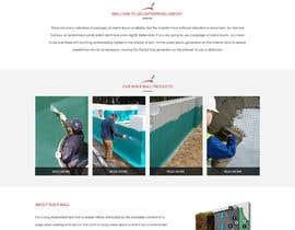 Nro 42 kilpailuun Construction company website käyttäjältä webidea12