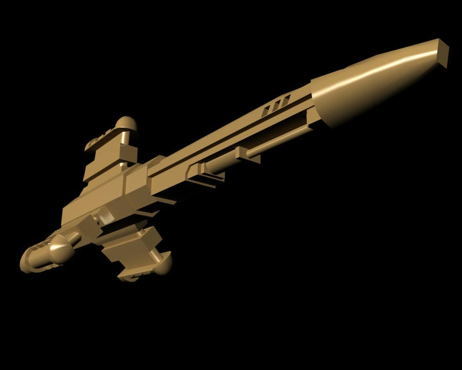 #1 for Do some 3D Modelling for a SciFi Video Game by claudiarecords