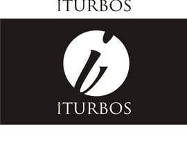 """Nro 12 kilpailuun Design logo """" iTURBOS """" käyttäjältä arddyant"""
