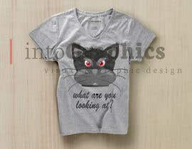 #40 for Design a Cat t-shirt by intographics