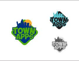 #50 for Logo for TownApps by rueldecastro