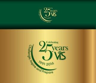 gemarjaymecija tarafından 25th anniversary school logo için no 32