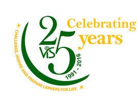 afsana2324 tarafından 25th anniversary school logo için no 66