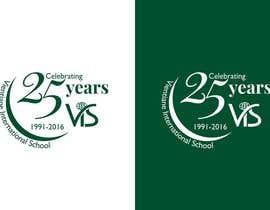 trying2w tarafından 25th anniversary school logo için no 56
