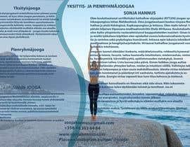 Nro 23 kilpailuun Design a brochure: private yoga teaching käyttäjältä ameegraphics