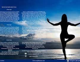Nro 6 kilpailuun Design a brochure: private yoga teaching käyttäjältä UmaGuru